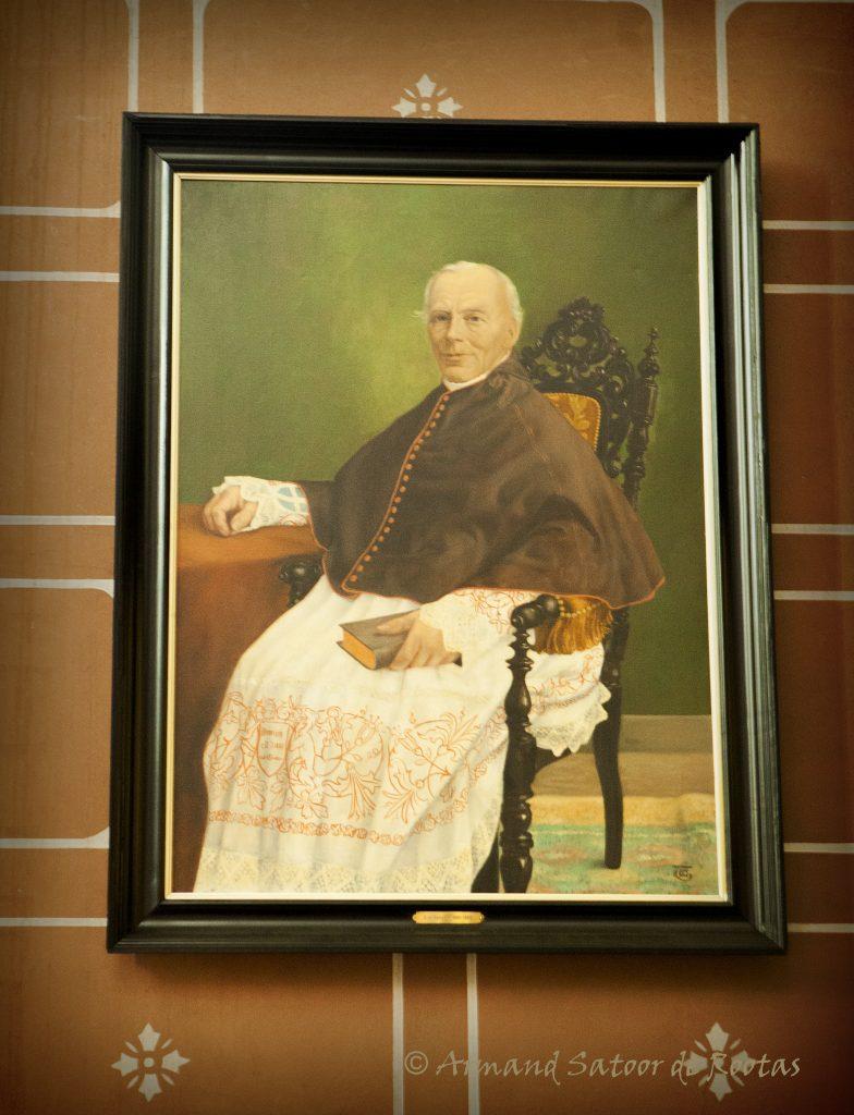 Otto Anthonius Spitzen; pastoor 1866-1889, die samen met F.W. Mengelberg grondlegger was van de neogotische inrichting van de kerk